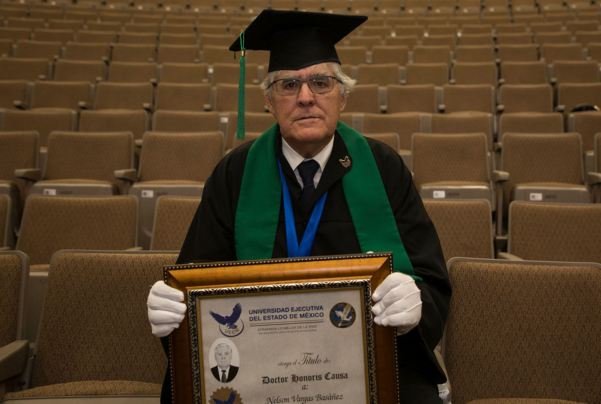 IMELE otorga doctorado Honoris Causa al profesor Nelson Vargas